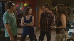Kyle Canning, Kate Ramsay, Mark Brennan, Jade Mitchell in Neighbours Episode 6182