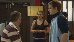 Karl Kennedy, Jade Mitchell, Kyle Canning in Neighbours Episode 6183