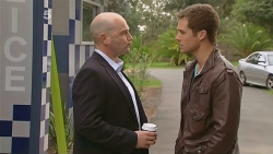 Supt. Duncan Hayes, Mark Brennan in Neighbours Episode 6183