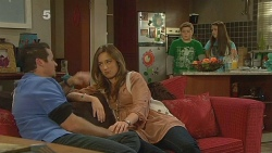 Toadie Rebecchi, Sonya Mitchell, Callum Jones, Sophie Ramsay in Neighbours Episode 6183