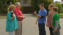 Carolyn Johnston, Harold Bishop, Toadie Rebecchi, Sonya Mitchell, Callum Jones in Neighbours Episode 6183