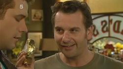 Mark Brennan, Lucas Fitzgerald in Neighbours Episode 6184
