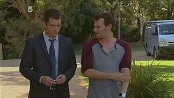 Mark Brennan, Lucas Fitzgerald in Neighbours Episode 6186
