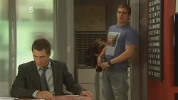Mark Brennan, Kyle Canning in Neighbours Episode 6186
