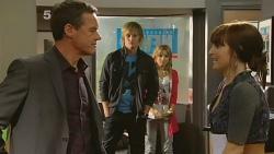 Paul Robinson, Andrew Robinson, Natasha Williams, Summer Hoyland in Neighbours Episode 6187