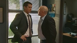 Mark Brennan, Supt. Duncan Hayes in Neighbours Episode 6187