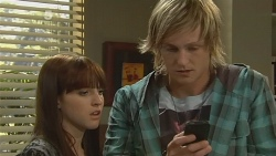 Summer Hoyland, Andrew Robinson in Neighbours Episode 6191