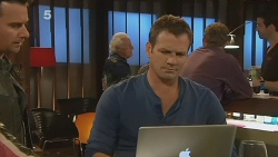 Lucas Fitzgerald, Michael Williams in Neighbours Episode 6191