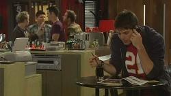 Ivan DeMarco , Chris Pappas in Neighbours Episode 6192