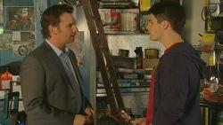 Lucas Fitzgerald, Chris Pappas in Neighbours Episode 6192