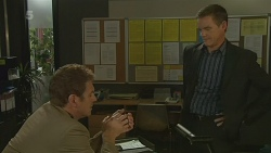 Michael Williams, Paul Robinson in Neighbours Episode 6193