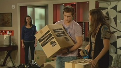 Kate Ramsay, Kyle Canning, Jade Mitchell in Neighbours Episode 6194