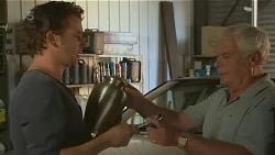 Lucas Fitzgerald, Lou Carpenter in Neighbours Episode 6196