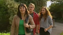 Danielle Paquette, Kyle Canning, Jade Mitchell in Neighbours Episode 6196