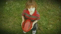 Lucas Fitzgerald aged 5 in Neighbours Episode 6196