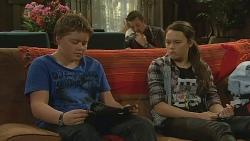 Callum Jones, Toadie Rebecchi, Sophie Ramsay in Neighbours Episode 6198