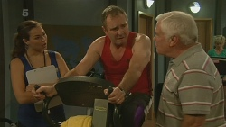 Jade Mitchell, Karl Kennedy, Lou Carpenter in Neighbours Episode 6199
