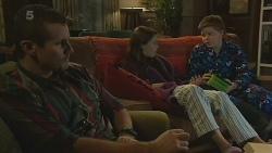 Toadie Rebecchi, Sophie Ramsay, Callum Jones in Neighbours Episode 6199