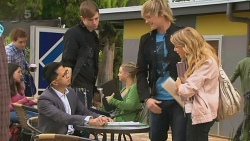 Tutor, Andrew Robinson, Natasha Williams in Neighbours Episode 6200