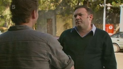 Lucas Fitzgerald, George Pappas in Neighbours Episode 6200