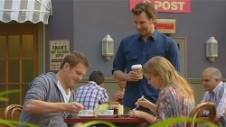 Michael Williams, Lucas Fitzgerald, Natasha Williams in Neighbours Episode 6202