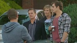 Michael Williams, Paul Robinson, Andrew Robinson, Kyle Canning in Neighbours Episode 6202