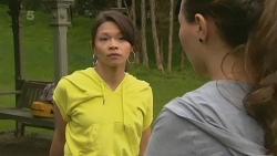 Michelle Tran, Jade Mitchell in Neighbours Episode 6205
