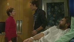 Susan Kennedy, Rhys Lawson, Jim Dolan in Neighbours Episode 6206
