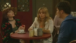 Summer Hoyland, Natasha Williams, Chris Pappas in Neighbours Episode 6206
