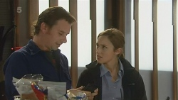 Lucas Fitzgerald, Sonya Mitchell in Neighbours Episode 6208
