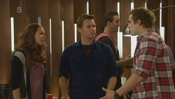 Jade Mitchell, Lucas Fitzgerald, Kyle Canning in Neighbours Episode 6208