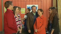 Kyle Canning, Kate Ramsay, Karl Kennedy, Susan Kennedy, Jade Mitchell in Neighbours Episode 6209