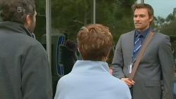 Jim Dolan, Susan Kennedy, Rhys Lawson in Neighbours Episode 6210