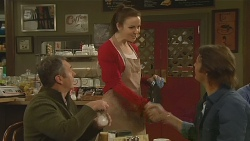 Karl Kennedy, Kate Ramsay, Malcolm Kennedy in Neighbours Episode 6210