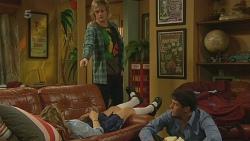 Natasha Williams, Andrew Robinson, Chris Pappas in Neighbours Episode 6212