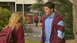 Natasha Williams, Chris Pappas in Neighbours Episode 6213