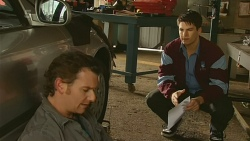 Lucas Fitzgerald, Chris Pappas in Neighbours Episode 6213