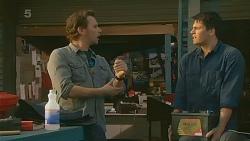 Lucas Fitzgerald, Chris Pappas in Neighbours Episode 6214