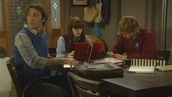 Malcolm Kennedy, Summer Hoyland, Andrew Robinson in Neighbours Episode 6214