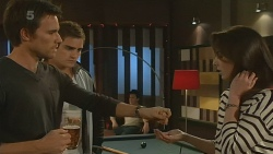 Rhys Lawson, Kyle Canning, Kate Ramsay in Neighbours Episode 6215