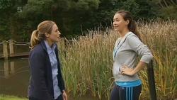 Sonya Mitchell, Jade Mitchell in Neighbours Episode 6216