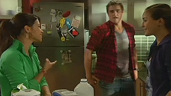 Michelle Tran, Kyle Canning, Jade Mitchell in Neighbours Episode 6217
