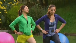 Michelle Tran, Jade Mitchell in Neighbours Episode 6217