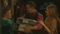 Callum Jones, Toadie Rebecchi, Sonya Mitchell in Neighbours Episode 6217