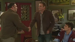 George Pappas, Michael Williams, Chris Pappas in Neighbours Episode 6219