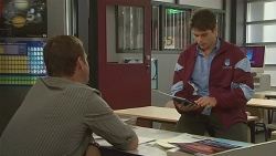 Michael Williams, Chris Pappas in Neighbours Episode 6219