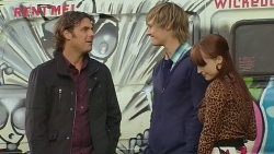 Malcolm Kennedy, Andrew Robinson, Summer Hoyland in Neighbours Episode 6220