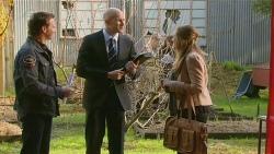 Lucas Fitzgerald, Gary Denham, Sonya Mitchell in Neighbours Episode 6221