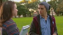 Kate Ramsay, Noah Parkin in Neighbours Episode 6222