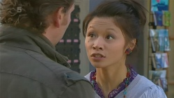 Lucas Fitzgerald, Michelle Tran in Neighbours Episode 6222